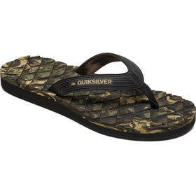 Quiksilver Massage 2 Sandals Men black/green/black